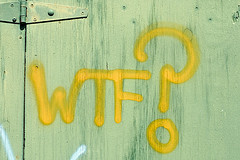 WTF? - Francis Mariani - CC BY-NC-SA