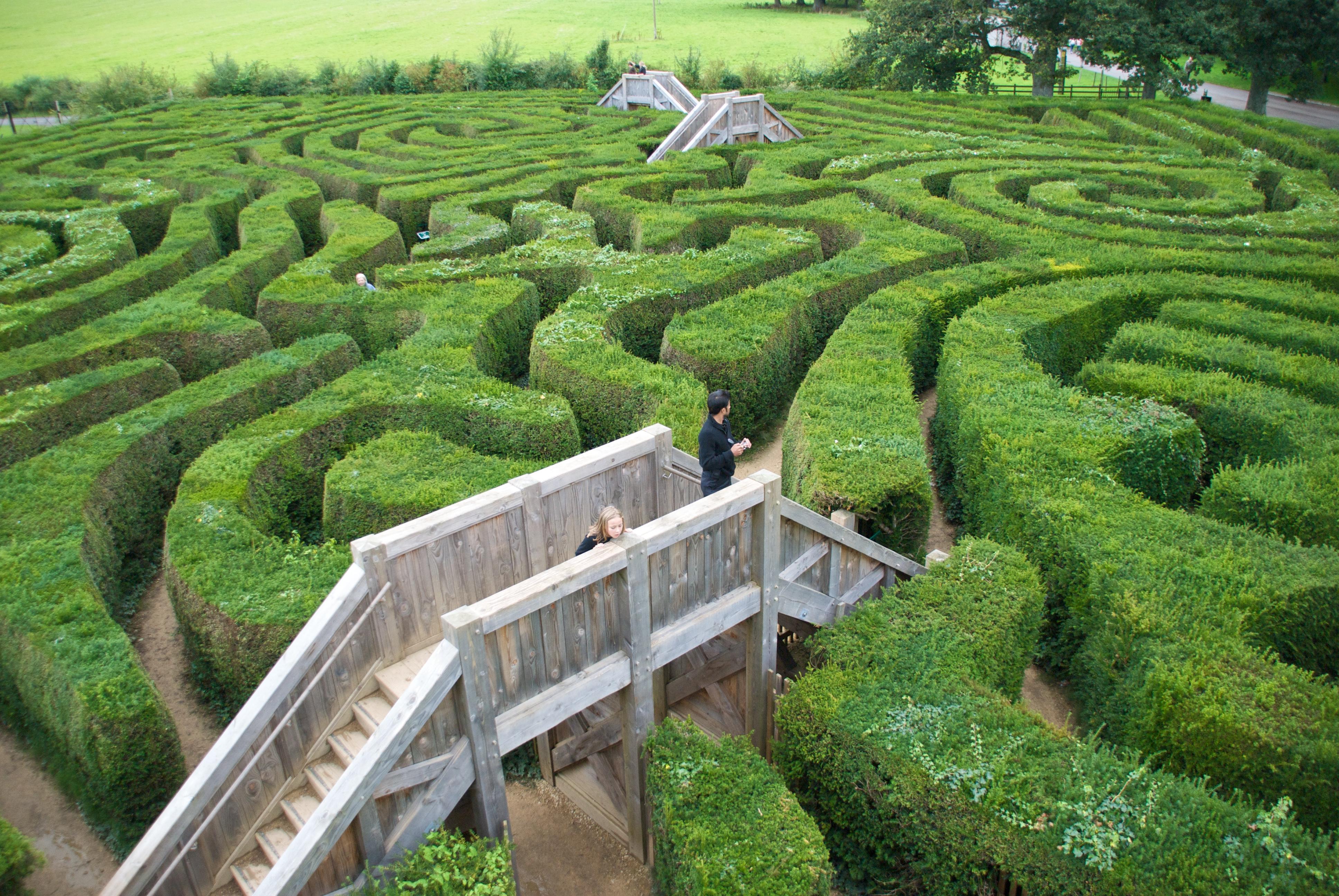 Longleat-maze